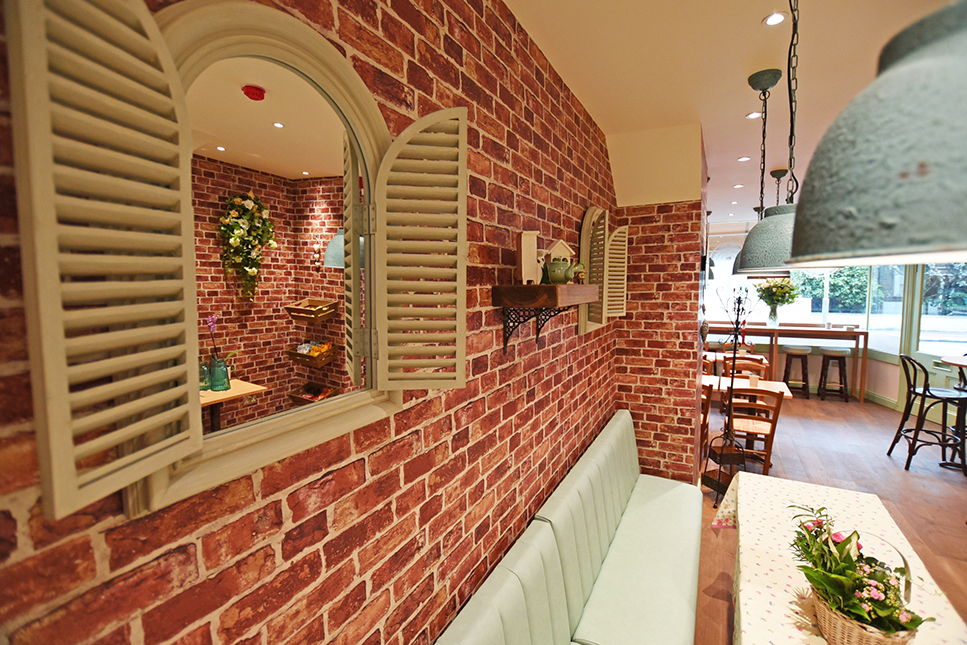 Cafe' wall