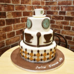 Julia Domna cafe cake